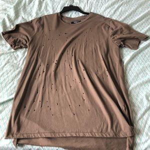 Forever 21 Shirts - Distressed T-shirt